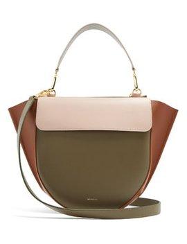 Hortensia Medium Leather Cross Body Bag by Wandler