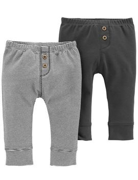2 Pack Pull On Pants by Carter's