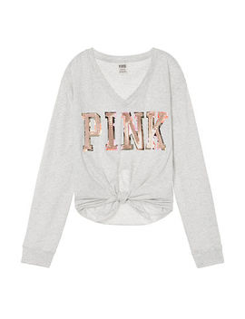 Bling Knotted Long Sleeve Tee by Victoria's Secret