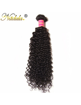Nadula Hair Brazilian Curly Hair Weave 100 Percents Curly Human Hair Extension Can Mix Bundles Length Remy Hair Machine Double Weft  by Nadula