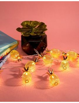 Stradivarius Pineapple Light Garland by Stradivarius