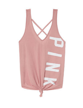 Tie Front Tank by Victoria's Secret