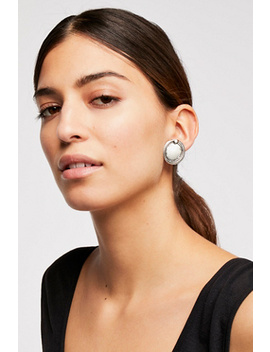 Oversized Disc Studs by Free People