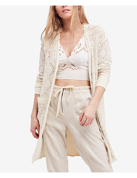 Runaway Crochet Duster Cardigan by Free People