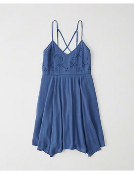 Cutout Swing Dress by Abercrombie & Fitch