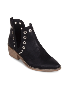 Womens Wanted Rivet Ankle Boot by Wanted