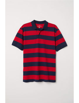 Striped Polo Shirt by H&M