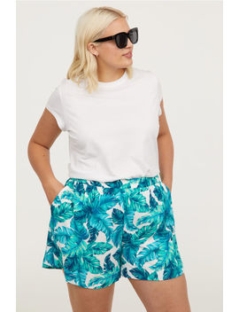 H&M+ Patterned Shorts by H&M
