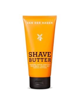 Van Der Hagen Shave Butter   6 Oz by Van Der Hagen