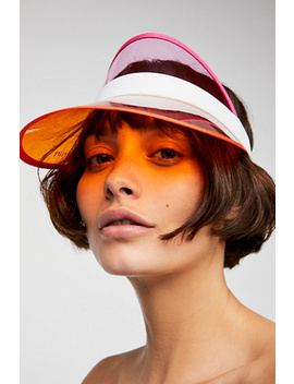 Day Trippin Vinyl Visor by Free People