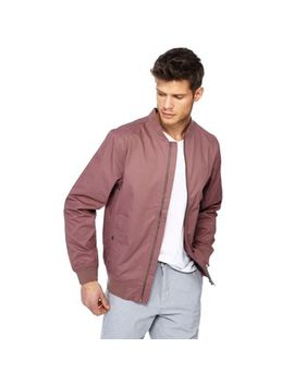 Red Herring   Big And Tall Pink Bomber Jacket by Red Herring