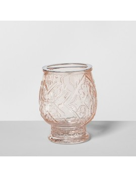 Glass Toothbrush Holder Blush   Opalhouse™ by Shop Collections