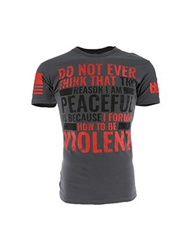 Grunt Style Hydra Tactical   Violent Men's T Shirt by Grunt Style