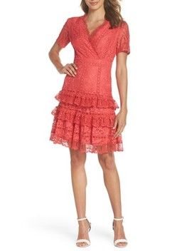 Arta Tiered Lace Dress by French Connection