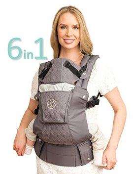 Six Position, 360° Ergonomic Baby & Child Carrier By Lill Ebaby   The Complete Embossed Luxe (Mystique) by Amazon