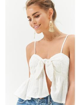 Knotted Ruffle Cami by Forever 21