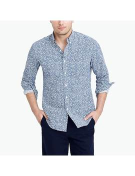 J.Crew Mercantile Printed Washed Shirt by J.Crew