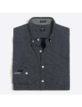 J.Crew Mercantile Slim Printed Washed Shirt by J.Crew