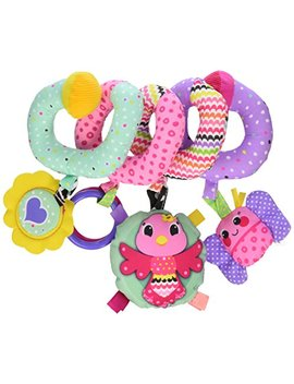 Infantino Spiral Activity Toy, Pink by Infantino