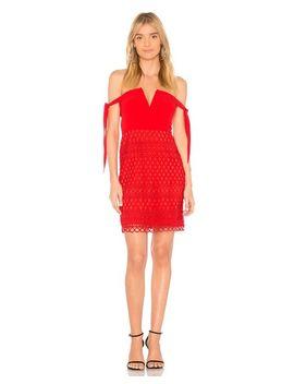 Women's Red Jackson Dress by Style Stalker