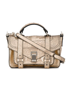 Embossed Python Ps1+ Tiny by Proenza Schouler