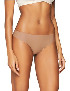 Iris & Lilly Women's Seamless Thong, Pack Of 3 by