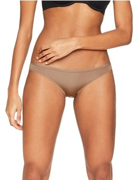 Iris & Lilly Women's Bikini Brief In Soft No Vpl, Pack Of 5 by