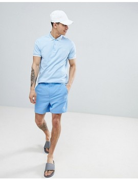 Fred Perry Riviera Tape Swim Shorts In Blue by Fred Perry