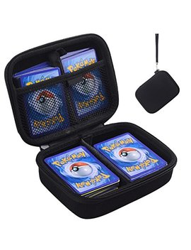 Ants Hard Case For Pokemon Trading Cards. Fits Up To 400 Cards. Includes 2 Removable Divider by Ants