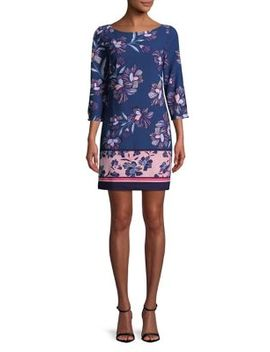 Floral Multicolor Day Dress by Vince Camuto