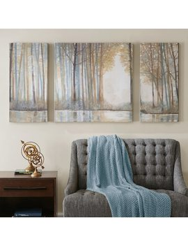 Madison Park Forest Reflections Canvas Wall Art 3 Piece Set by Kohl's
