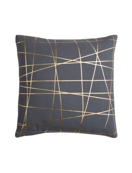 Metallic Lines Accent Pillow by Rizzy Home