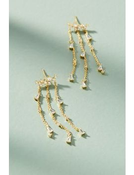 Elodie Chandelier Earrings by Anthropologie
