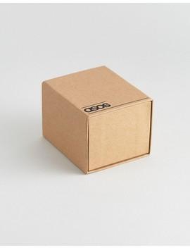 Asos – Uhr In Holz Optik Und In Gebürstetem Kupfer by Asos