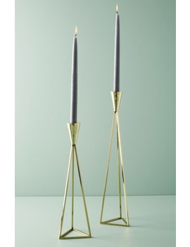 Akimbo Taper Candleholder by Anthropologie