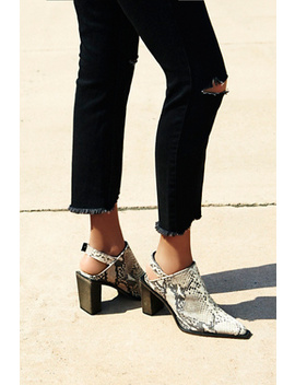 Silver Storm Mule by Free People