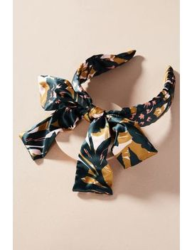 Bow Tied Tropical Headband by Anthropologie