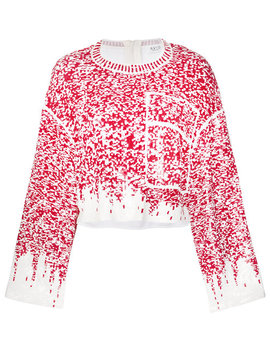 Sequin Embroidered Jumperhome Women Clothing Sweatshirts by Aviù