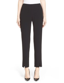 'jennifer' Crepe Marocain Ankle Pants by St. John Collection