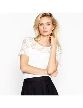 Vila   White 'melli' Top by Vila
