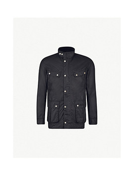 Duke Waxed Cotton Jacket by Barbour