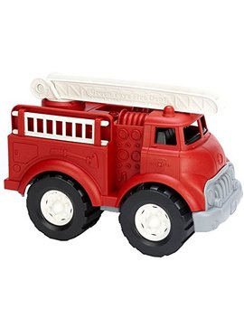 Green Toys Fire Truck   Bpa Free, Phthalates Free Imaginative Play Toy For Improving Fine Motor, Gross Motor Skills. Toys For Kids by Green Toys