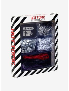 Diy Letter Jewelry Kit by Hot Topic