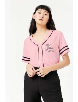 Maillot De Baseball «&Nbsp;La&Nbsp;» by F21 Contemporary