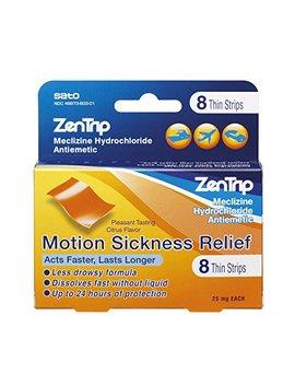 Zen Trip Motion Sickness Relief Strips, 8 Count by Zentrip