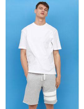 Shorts Al Ginocchio In Felpa by H&M