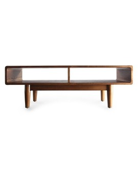 Dexter Mid   Century Coffee Table   Deco Walnut   Haven Home by Hives & Honey