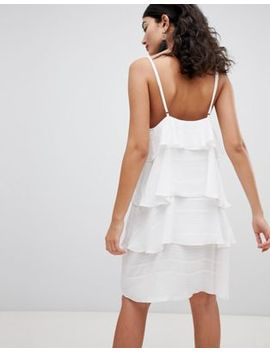 Pretty Little Thing Tiered Cami Mini Dress by Pretty Little Thing