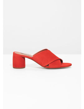 Criss Cross Slide Sandals by & Other Stories