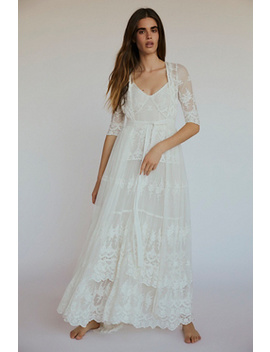 Canyon Moon Gown &Amp; Duster by Free People